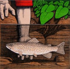 'Tickling Trout' by Frans Wesselman