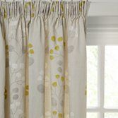John Lewis Seedlings Lined Pencil Pleat Curtains at John Lewis