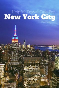Heading to the Big Apple? I've compiled some helpful travel tips for New York City with info about how to get in from the airport, free things to do, and more.