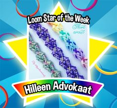 Who would've guessed that short circuits could be something cool? Congratulations to Hilleen Advokaat as our Loom Star of the Week! You don't have to be an electrician to appreciate this awesome bracelet design. On the other hand, someone who can cross rubber bands with such finesse can probably find her way around a set of wires just as well. Loom on! #FBLoomStaroftheWeek #FBLoomStar #LoomStaroftheWeek