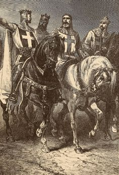 Leaders of the First Crusade.