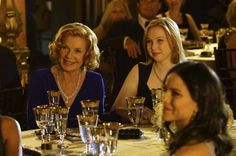 Martha Rodgers and Alexis Castle - Hollander's Woods - Castle Series, Castle Tv Shows, Castle Season 7, Alexis Castle, Castle 2009, Susan Sullivan, Richard Castle, Castle Beckett, Stana Katic