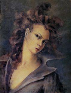 Self Portrait of Leonor Fini