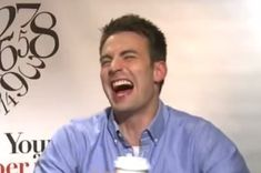 """Once upon a time, a very sexy guy liked to laugh. """"HA HA HA"""" he said, awkwardly. 