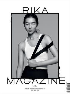 Liu Wen for RIKA Magazine by Joachim Mueller Ruccholtz