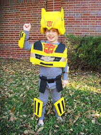 And Then There Was Home: Transformers Bumblebee Costume