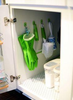 Küche organisieren und richtig einräumen - Hilfreiche Tipps und Tricks (Diy Storage Laundry)