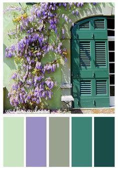 #Farbbberatung #Stilberatung #Farbenreich mit www.farben-reich.com Wisteria Door