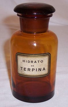 Antique apothecary bottle blown amber glass by AntiqueAddicts, $50.00