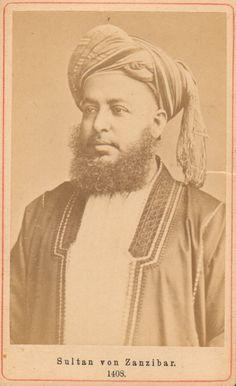 H.H Sultan Sayyid Bargash bin Said bin Sultan AlBusaid. Sultan of Zanzibar 1870.