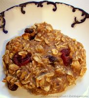 (Gluten Free) Banana Oat Breakfast Cookies:   BASE Ingredients:  •1 1/2 cups oatmeal, quick or old fashioned   •2 ripe bananas, mashed with fork until creamy •1 cup unsweetened applesauce;    add ins: raisins/cranberries and walnuts. READ THE POST FOR DETAILS
