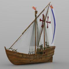 Model Sailboats, Lord Of War, Old Sailing Ships, Ship Paintings, Model Hobbies, Wooden Ship, Model Ships, Water Crafts, Medieval