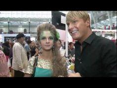 Gary Cockerill @ Olympia Beauty London Makeup Show [Sept Beauty Exhibition, London Makeup, Olympia, Videos, People, People Illustration, Folk