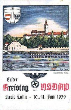 German NSDAP postcard