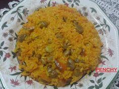 Arroz de verduras cartagenero de Cuaresma Grains, Rice, Recipes, Food, Gastronomia, Recipes With Rice, Vegetables, Cooking, Cartagena