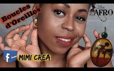 Boucles d'Oreilles de chez Mimi Créa