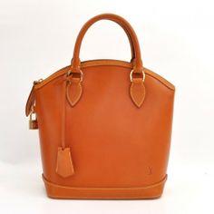 Louis Vuitton Lockit Brown Nomade Leather Bag