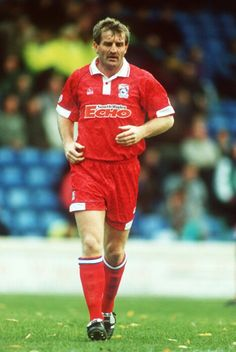 Robbie James in later playing days at Cardiff City in Cardiff City Football, Cardiff City Fc, Play Day, Fa Cup, Blue Bird, Premier League, Soccer, England, Futbol