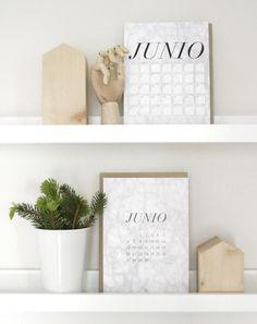 DESCARGABLE JUNIO 2016 -ALL YOUR SITES Floating Shelves, Calendar, Diy, Home Decor, Home, Latest Fashion Trends, Bricolage, Wall Mounted Shelves, Interior Design