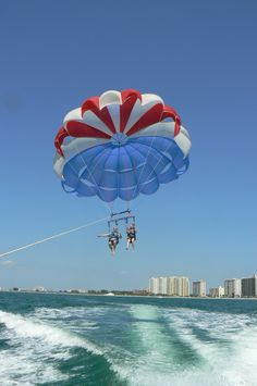 Parasailing in Clearwater, Florida