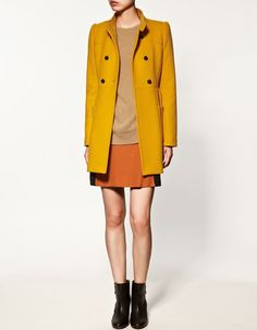 more bright-colored coats! must have!
