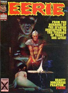 Phantom Fleur - Horror Stories - Spanish Inquisition - Terrors Of Today - Monster In Background