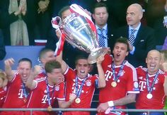 FC Bayern Munich wins 2:1 vs. Borussia Dortmund in Champions League Finals