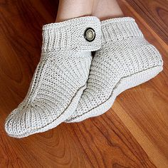 Ravelry: Winter Boots ADULT size pattern by Julia Noskova