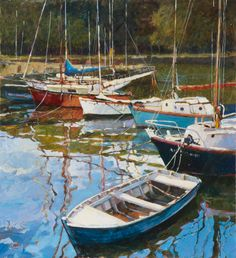 French Leisure, acrylic John Hammond - hard for me not to think of my grandfather, Tom Pressly's work with this one. Will try to post some of his soon!