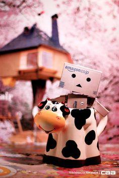 Happy Farm! by caaphoto.deviantart.com on @DeviantArt ___ #caa #valescabraga #danbo #cow #mug #still
