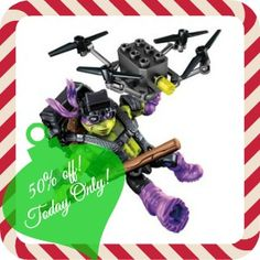 Target: 50% off Mega Bloks TMNT Ninja Tech Figures! In Store, Today Only! - Couponing to Disney