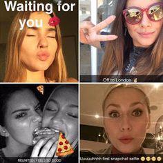 Goldify: So heißen Stars und Blogger bei Snapchat! Cosmopolitan, Snapchat, Star Wars, Sunglasses Women, Selfie, London, Feelings, Stars, Names