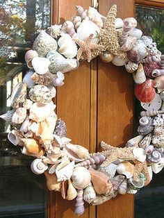 DIY - Shell Wreath