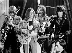 John Lennon, Keith Richards & Eric Clapton. The Rolling Stones Rock n' Roll Circus.