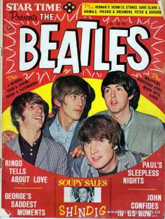 Star Time Presents: The Beatles (front cover art, Vol. 2, No. 1, October, 1965)