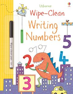 Wipe-clean writing numbers £2.99 (save  £2). Comment to order or email jane@quackquackbooks.co.uk