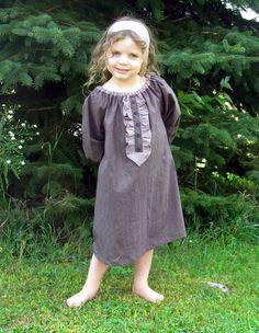 Matilda  Girl's Peasant Dress PDF Pattern by RubyJeansCloset, $7.95