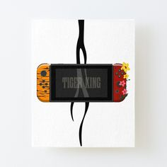 'Nintendo Switch Tiger King Edition' Canvas Mounted Print by SinandTonic Wall Prints, Canvas Prints, Buy Nintendo Switch, My Canvas, Flip Clock, Digital Alarm Clock, Print Design, King, Printed