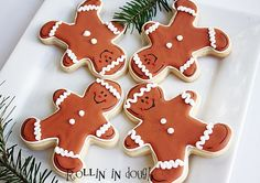 - Gingy and Pals - by Nicole Fischer on Etsy