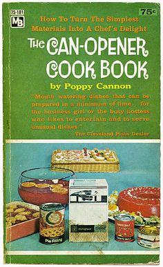 If there were no Poppy Cannon there would be no Rachael Ray. Yes, Ms. Cannon's recipes look (by today's standards) a little unappetizing. Even still, she was an original in the field of fast family food.     Check out this article from HuffPost and attempt Beef Martinique at your own risk.