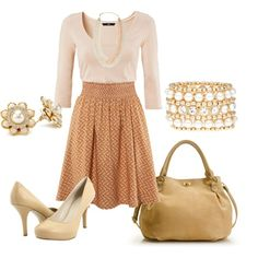 Perfect for a young teacher!, created by alanad23 on Polyvore