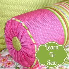 Would You Like To Learn To Sew? - Newton Custom Interiors #sewingprojects #diyprojects