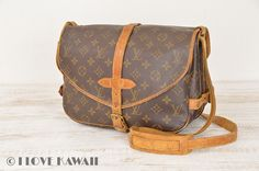 Louis Vuitton Monogram Saumur 30 Shoulder Bag M42256