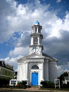 Highrock Church on Massachusetts Ave; Arlington, MA
