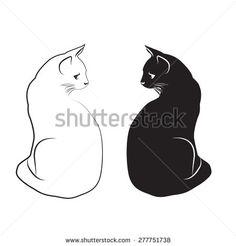 Black Cat Template Patterns