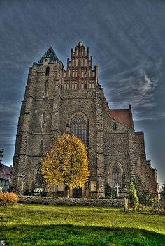 Gothic church in Strzegom, Poland  strzegom1 by tomekwlodarczyk, via Flickr