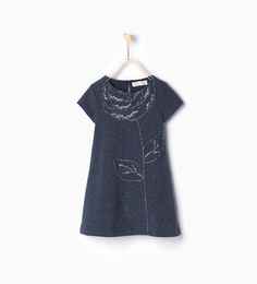 Dress with flower embroidery-View all-Dresses and Jumpsuits-Girl-Kids | 4-14 years-KIDS | ZARA United States