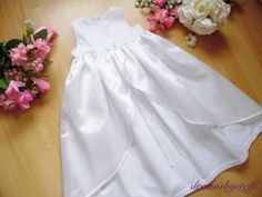 dreamsbysteffi ® - Edles Taufkleid mit Überrock