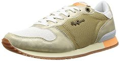 Pepe Jeans GABLE GOLD Damen Sneakers - http://on-line-kaufen.de/pepe-jeans/pepe-jeans-gable-gold-damen-sneakers