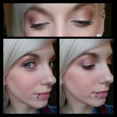 Neutral champagne daytime look